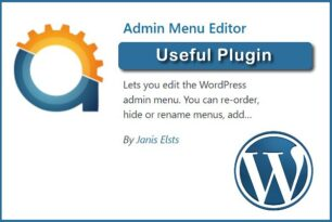 WordPress Admin Menu Editor